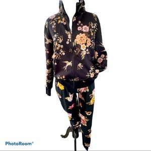 Material girl sweatsuit outfit